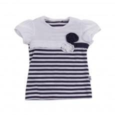 T-shirt Marinière Bleu marine