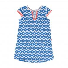 Robe Eponge Bleu