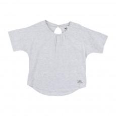 T-Shirt Goutte Gris chiné
