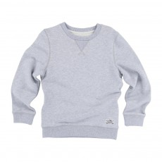 Sweat Col rond Gris clair
