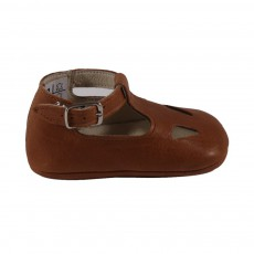 Chaussons babies Camel