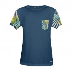 T-Shirt Poche Liftbi Bleu marine