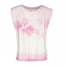 T-Shirt Parisettegi Rose pâle