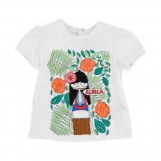 T-shirt Miss Marc Aloha Ecru