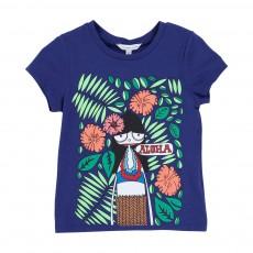 T-shirt Miss Marc Aloha Bleu roi