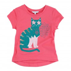 T-shirt Chat Meeow Rose
