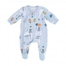 Pyjama Singes Bleu gris