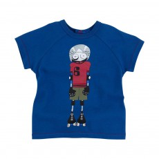 T-shirt Little Marc Roller Bleu