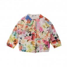 Cardigan Fleurs Hanaelle Multicolore