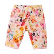 Pantalon Fleurs Hyatis Multicolore