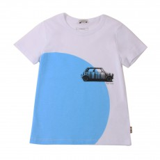 T-shirt Voiture Hurry Blanc