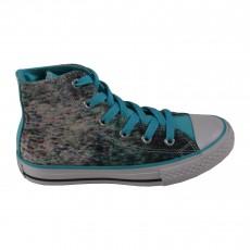 Baskets Stream Wash Bleu turquoise