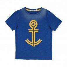 T-Shirt Ancre Bleu roi