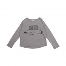 T-Shirt Mr Nail Gris chiné