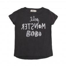 T-Shirt Petit Monster Gris souris