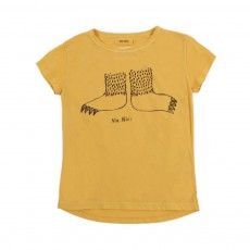 T-Shirt Mr Nail Jaune