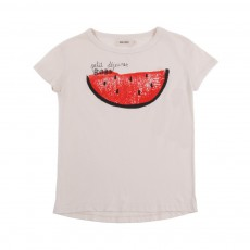 T-Shirt Watermelon Blanc