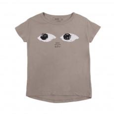 T-Shirt Mr Peep Taupe
