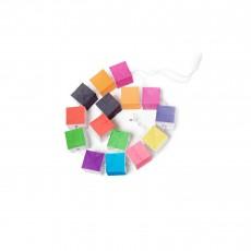 Guirlande Cubiste multicolore - Petit format Multicolore