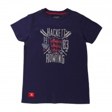 T-Shirt Rowing Bleu roi