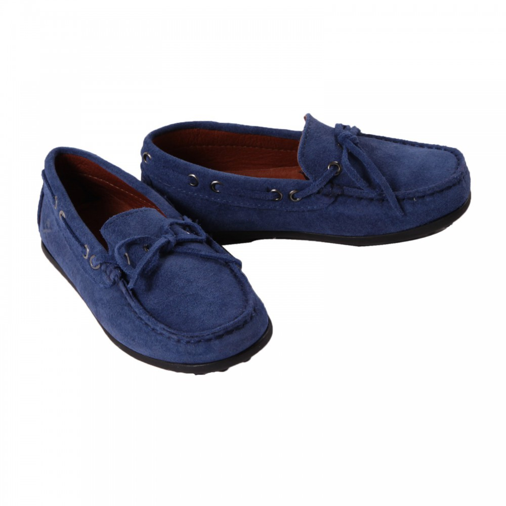 mocassins lacets bleu roi hackett chaussures smallable. Black Bedroom Furniture Sets. Home Design Ideas