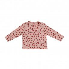 T-shirt Pommes Buster Vieux Rose