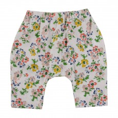 Pantalon Fleurs Drew Multicolore