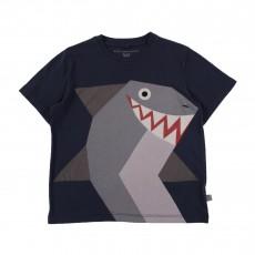 T-shirt Requin Arlo Bleu nuit