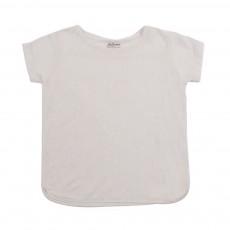 T-shirt Dentelle Sady Blanc