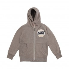 "Sweat Zippé ""Pinata"" Ashk Gris"