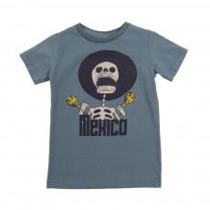 "T-shirt ""Mexico"" Keny Bleu gris"