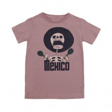 "T-shirt ""Mexico"" Keny Prune"