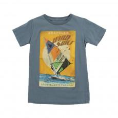 """T-shirt """"Wind Surf"""" Keny Bleu gris"""