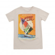 "T-shirt ""Wind Surf"" Keny Vanille"