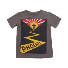 "T-shirt ""Phoenix"" Keny Taupe"