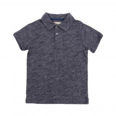 Polo Chiné Calin Bleu gris