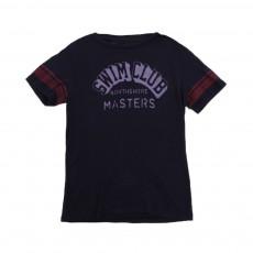 """T-shirt """"Collège Swim Club"""" Bleu nuit"""