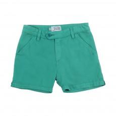 Short Coton Rocha Vert