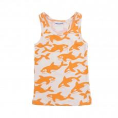 Débardeur Orques  Orange