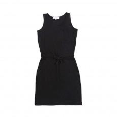 Robe Mouchetée Noir