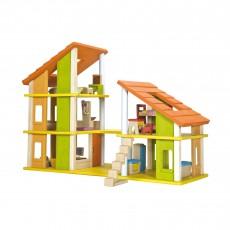 Maison de poupée Chalet meublée