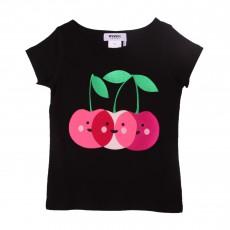 T-shirt Cerises Noir