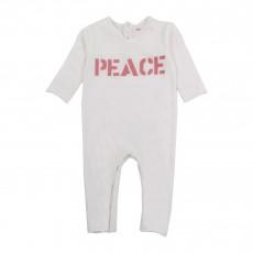 "Combinaison ""Peace"" Blanc"