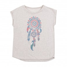 T-shirt Dreamcatcher Gris chiné