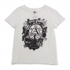T-shirt Anarchy Blanc