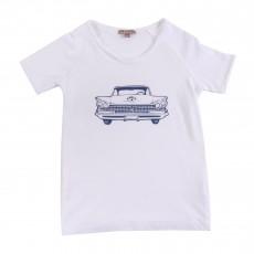 T-shirt Chevrolet Blanc