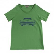 T-shirt Chevrolet Vert