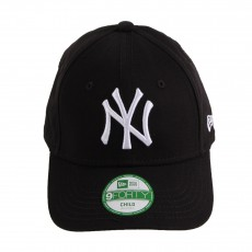 Casquette Curve Ajustable MLB League NY 9FORTY Noir
