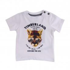 T-Shirt City Adventure Blanc