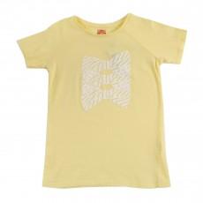 T-shirt Nœuds Jaune